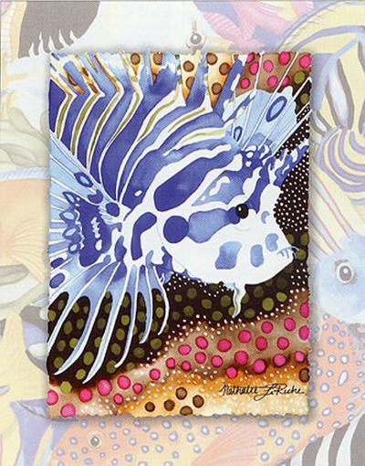 Tropic Fish I-Nathalie Le Riche-Art Print