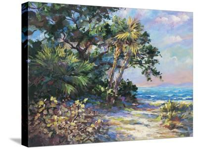 Tropic Glow- E. Wood-Stretched Canvas Print