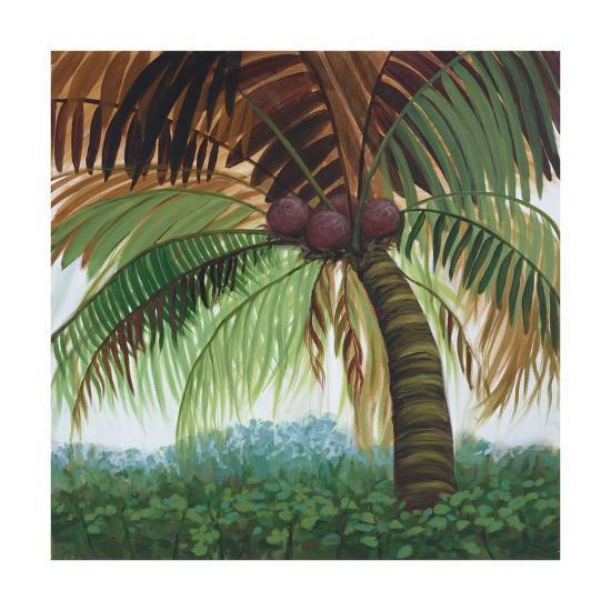 Tropic Palm II-Julie Joy-Art Print