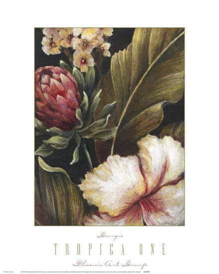 Tropica I-Georgie-Art Print