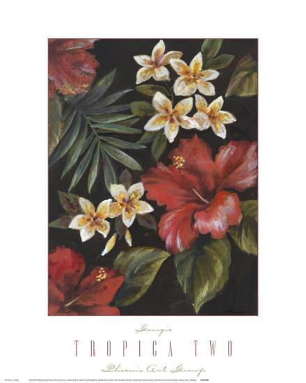 Tropica II-Georgie-Art Print