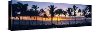 Tropical beach at sunset, Maui, Hawaii, USA