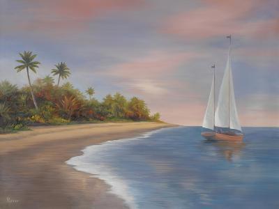 Tropical Beach I-Vivien Rhyan-Premium Giclee Print