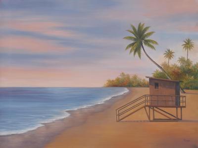Tropical Beach II-Vivien Rhyan-Premium Giclee Print
