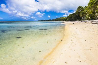 Tropical Beach in Muri Area of Rarotonga, Cook Islands, South Pacific, Pacific-Matthew Williams-Ellis-Photographic Print