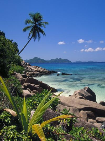 Tropical Beach, La Digue Island, Seychelles-Angelo Cavalli-Photographic Print