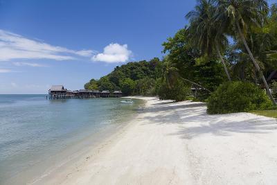 Tropical Beach, Palau Pangkor Laut, West Coast, Malaysia-Peter Adams-Photographic Print