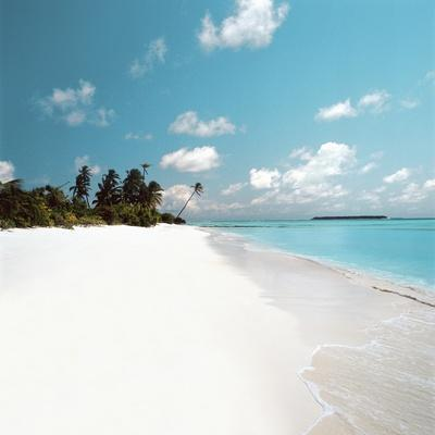 Tropical Beach--Photographic Print