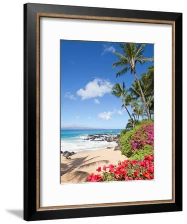 Tropical Beach-M Swiet Productions-Framed Photographic Print