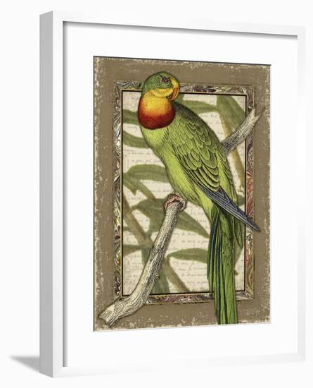 Tropical Bird Composition VI-Kate Ward Thacker-Framed Art Print