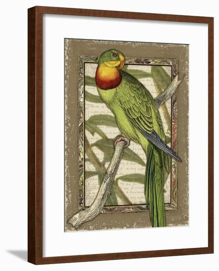 Tropical Bird Composition VI-Kate Ward Thacker-Framed Art Print