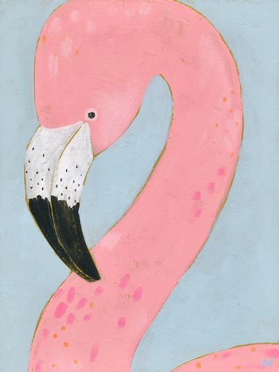 Tropical Birds - Flamingo--Giclee Print