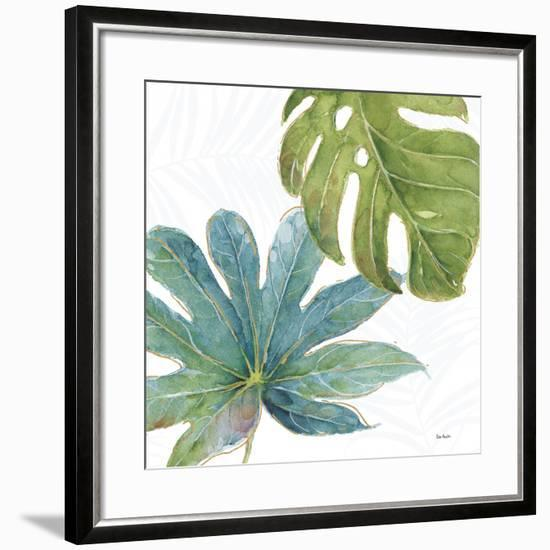 Tropical Blush VII-Lisa Audit-Framed Premium Giclee Print