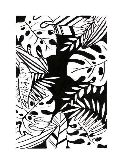 Tropical Border 1-First Avenue Doodlers-Premium Giclee Print