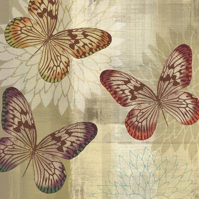 Tropical Butterflies I-Tandi Venter-Art Print