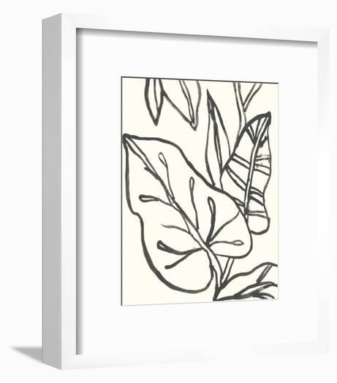 Tropical Contour IV-June Erica Vess-Framed Art Print