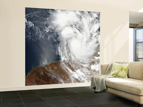 Tropical Cyclone Laurence Off the Northwestern Coast of Australia--Wall Mural – Large