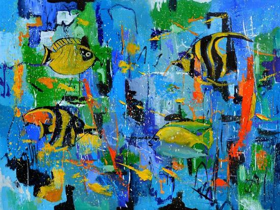 Tropical Dream-Pol Ledent-Art Print