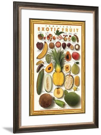 Tropical Exotic Fruit-Norman Van Aken-Framed Art Print
