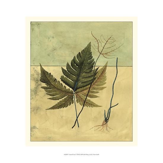 Tropical Fern V-Vision Studio-Art Print