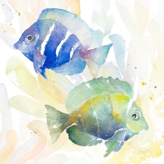 Tropical Fish Square IV-Lanie Loreth-Art Print