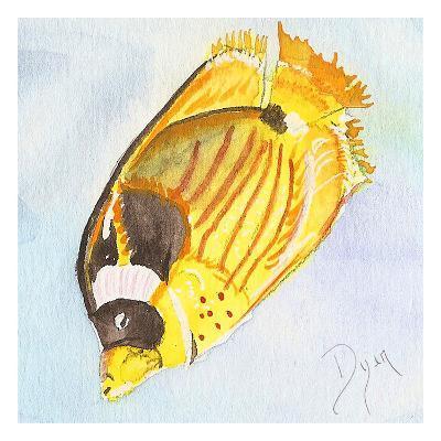 Tropical Fishy II-Beverly Dyer-Art Print