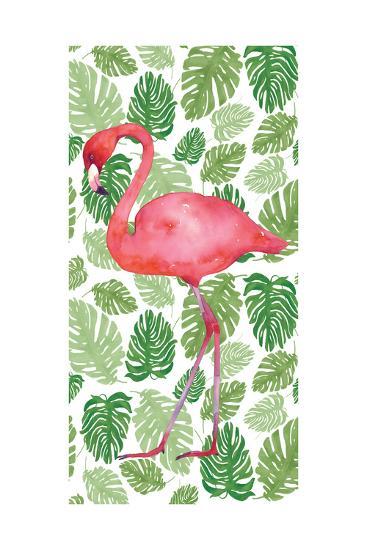 Tropical Flamingo II-Wild Apple Portfolio-Premium Giclee Print