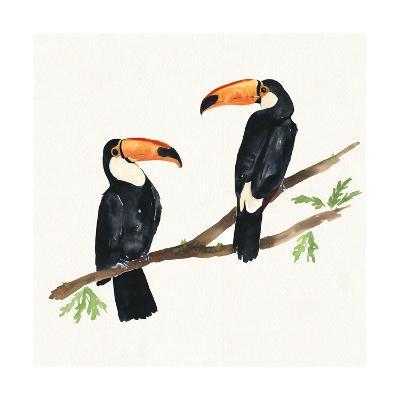 Tropical Fun Bird I-Harriet Sussman-Art Print