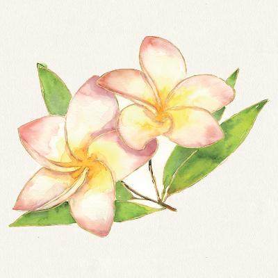 Tropical Fun Flowers I-Harriet Sussman-Art Print