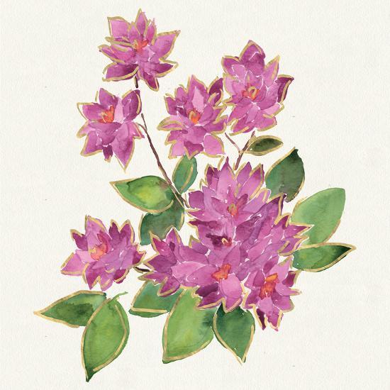 Tropical Fun Flowers IV-Harriet Sussman-Art Print