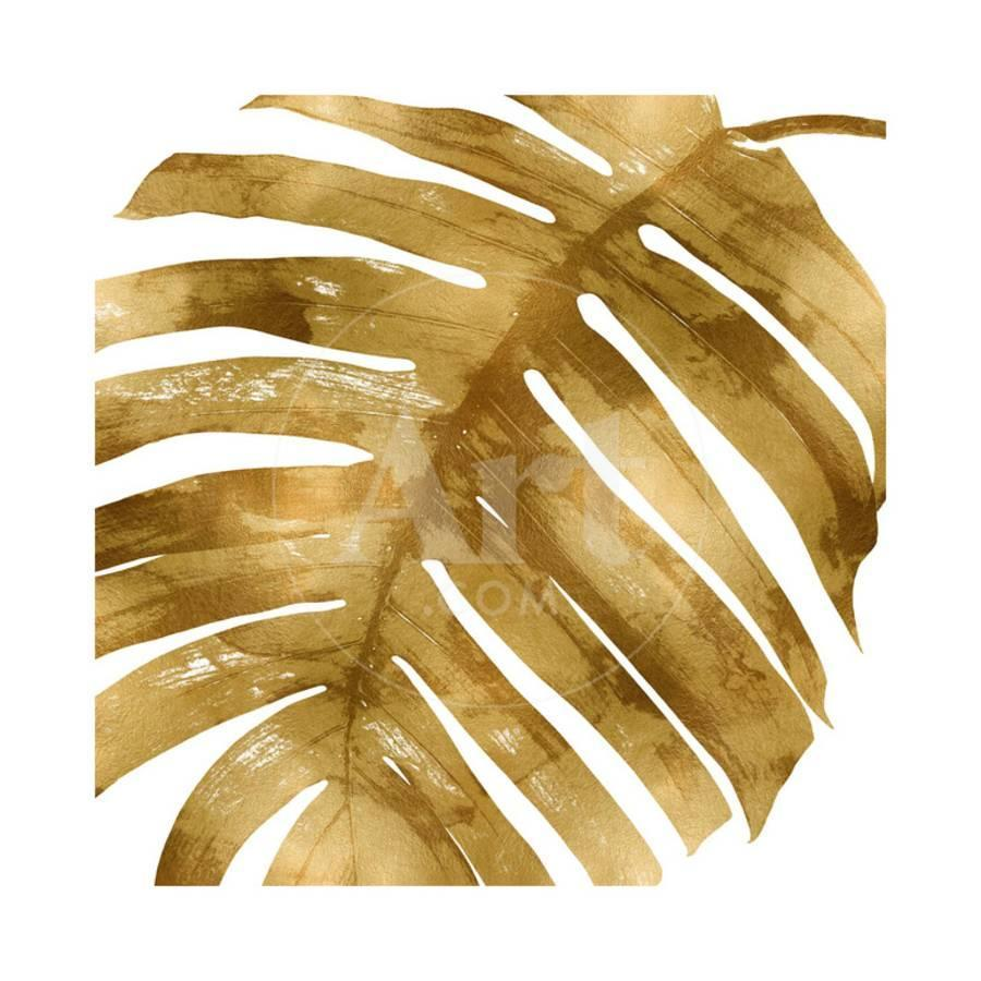 Tropical Gold Palm II Giclee Print by Melonie Miller | Art.com