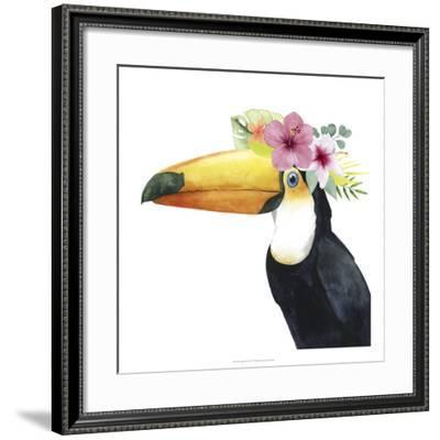 Tropical Halo III-Grace Popp-Framed Art Print