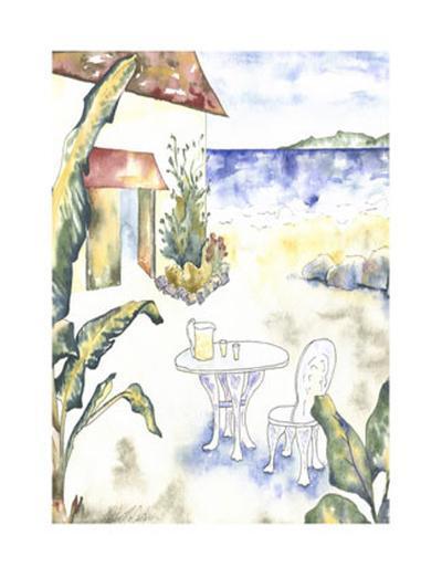 Tropical Holiday II-McCarter-Art Print