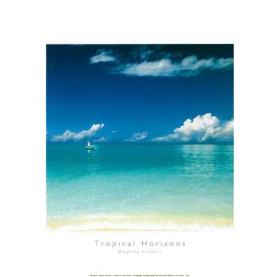 Tropical Horizons I-Adam Brock?-Art Print