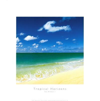 Tropical Horizons III-Adam Brock?-Art Print
