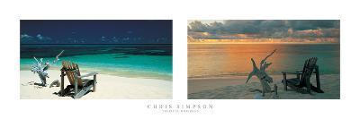 Tropical Horizons-Chris Simpson-Giclee Print