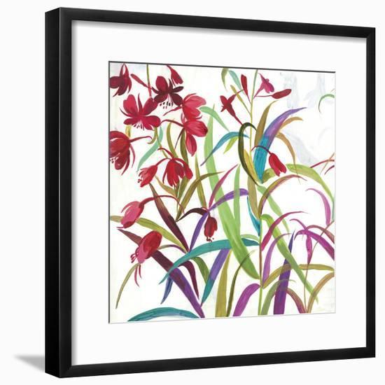 Tropical I-Asia Jensen-Framed Art Print