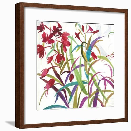 Tropical I-Asia Jensen-Framed Art Print
