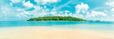 Tropical Island - Caribbean Sea--Art Print