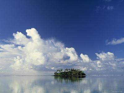 Tropical Island, Raratonga, Cook Islands-Peter Adams-Photographic Print
