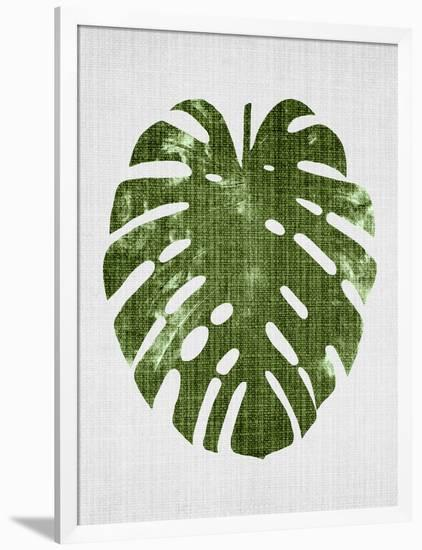 Tropical Leaf 1-LILA X LOLA-Framed Giclee Print
