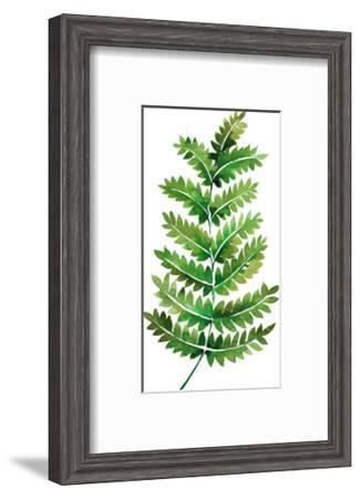 Tropical Leaf Fern-Victoria Nelson-Framed Art Print