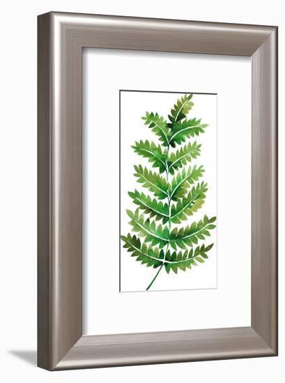 Tropical Leaf Fern-Victoria Nelson-Framed Art Print