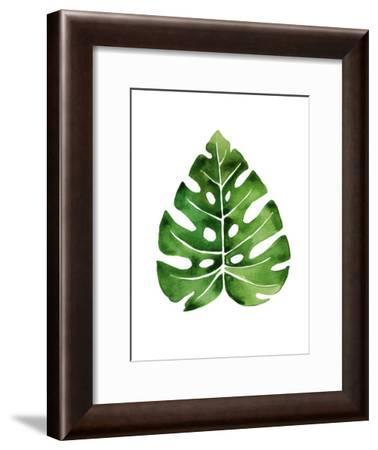 Tropical Leaf Monstera-Victoria Nelson-Framed Art Print
