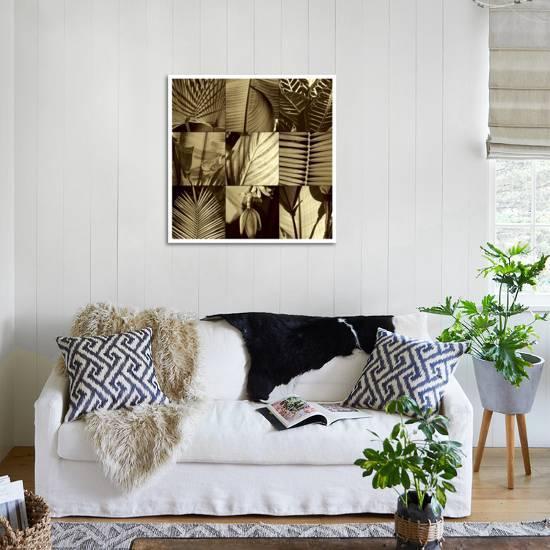 home decor ideas use tropical leaves.htm tropical leaves i giclee print by caroline kelly art com  tropical leaves i giclee print by