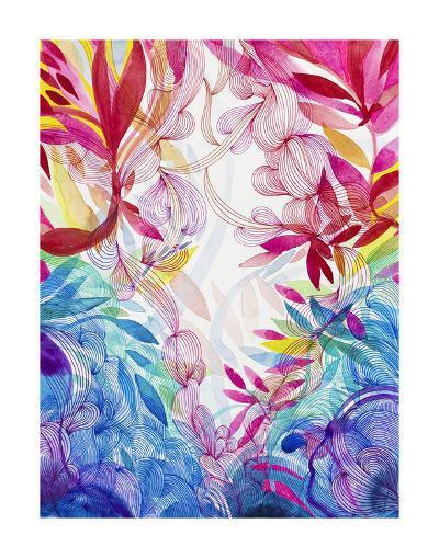 Tropical Love-Helen Wells-Art Print