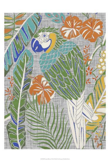 Tropical Macaw-Chariklia Zarris-Art Print