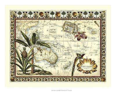 Tropical Map of East Indies-Vision Studio-Giclee Print