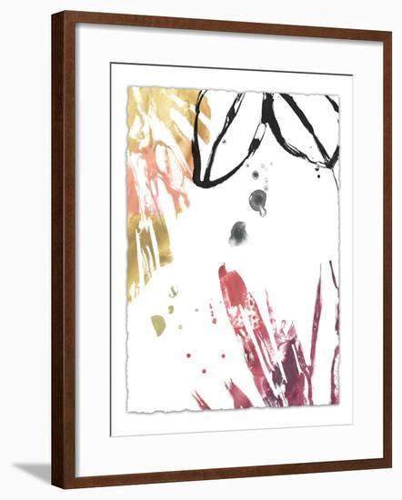 Tropical Moderne IV-June Vess-Framed Art Print