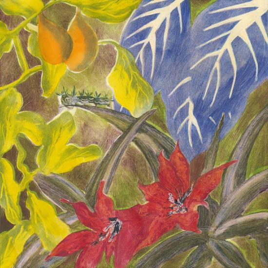Tropical Monotype I-Carolyn Roth-Art Print